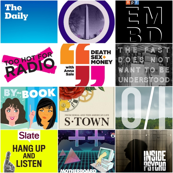 The Best Podcasts of March 2017