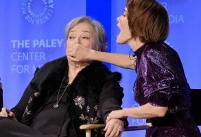 Kathy Bates and Sarah Paulson at PaleyFest 2017