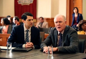 "Nicholas D'Agosto and John Lithgow, ""Trial & Error"""