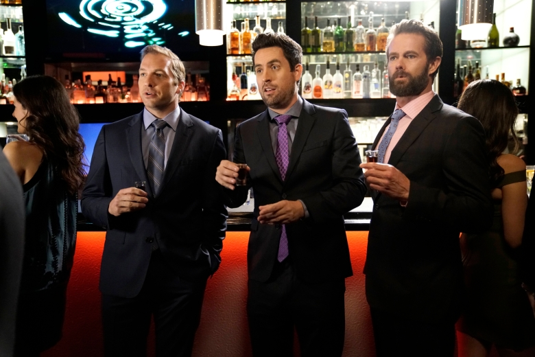 """Ryan Hansen, Ed Weeks and Garret Dillahunt, """"The Mindy Project"""""""