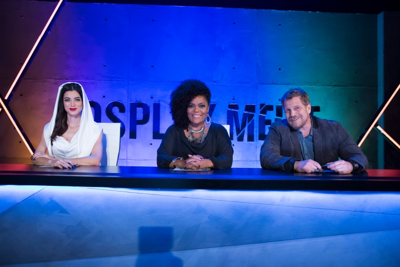 """Cosplay Melee"": LeeAnna Vamp, Yvette Nicole Brown and Christian Beckman"
