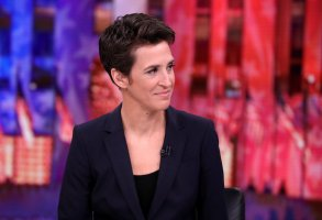 "MSNBC - ELECTION COVERAGE -- Election Night 2016 -- Pictured: Rachel Maddow, Host, ""The Rachel Maddow Show"" on Tuesday, November 8, 2016 from New York -- (Photo by: Heidi Gutman/MSNBC)"