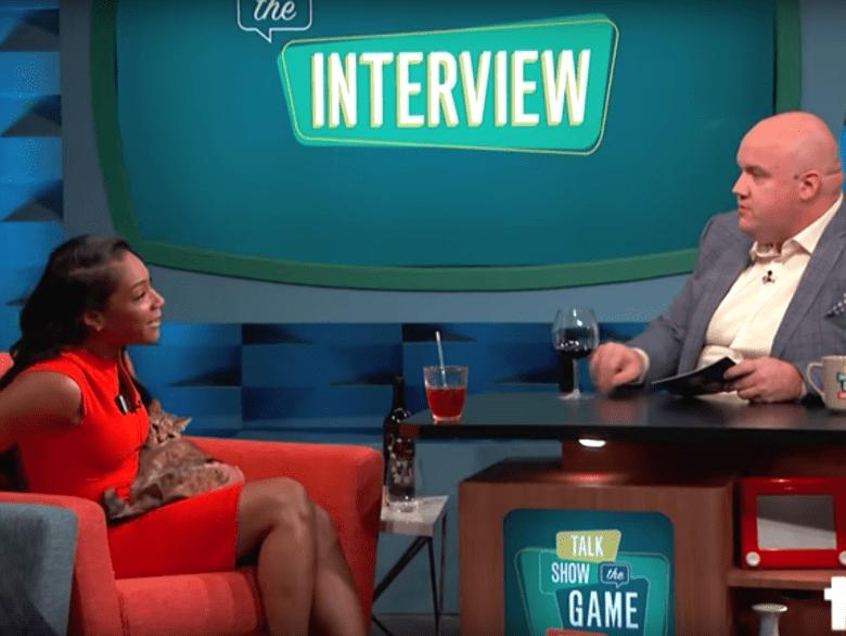 "Tiffany Haddish, Catonic and Guy Branum, ""Talk Show the Game Show"""