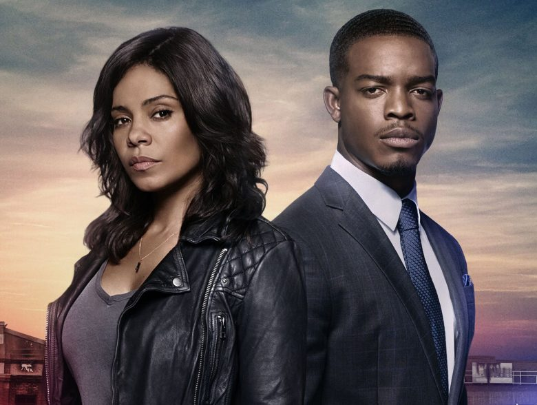 SHOTS FIRED: Pictured L-R: Sanaa Lathan and Stephan James in SHOTS FIRED premiering Wednesday, March 22 (8:00-9:00 PM ET/PT) on FOX. ©2017 Fox Broadcasting Co. CR: Michael Lavine/FOX