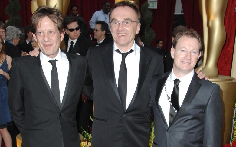 Christian Colson, Danny Boyle and Simon Beaufoy