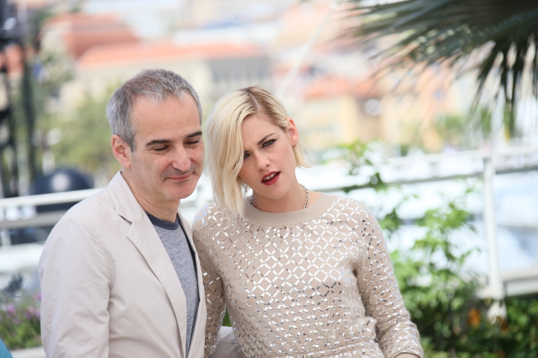 Kristen Stewart and Olivier Assayas
