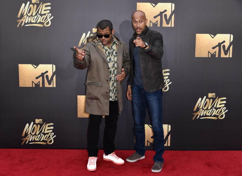 Jordan Peele and Keegan-Michael KeyMTV Movie Awards, Arrivals, Los Angeles, America - 09 Apr 2016