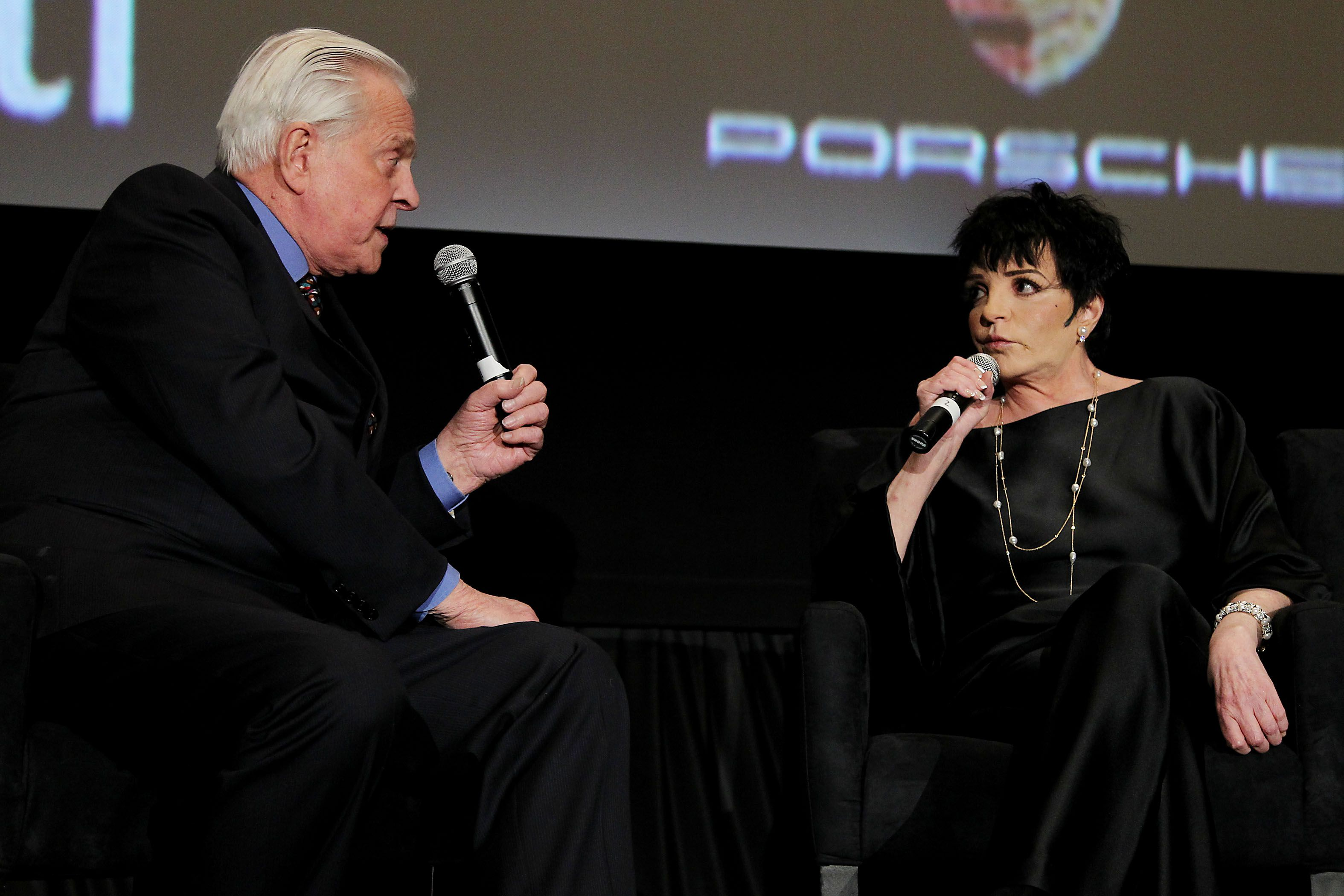 Robert Osborne and Liza Minnelli