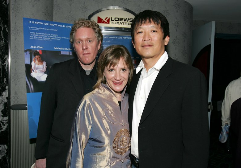 Scott Macauley, Robin O'Hara and Teddy Zee'SAVING FACE' FILM PREMIERE, NEW YORK, AMERICA - 23 MAY 2005