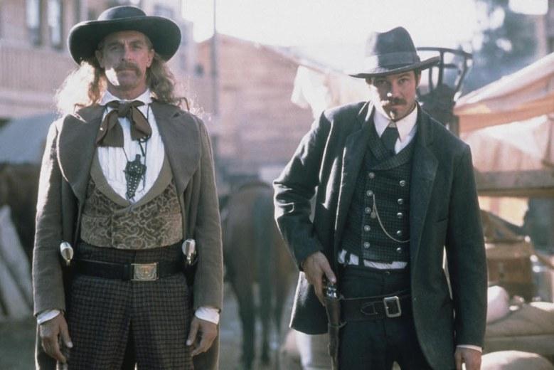 """Keith Carradine and Timothy Olyphant, """"Deadwood"""""""