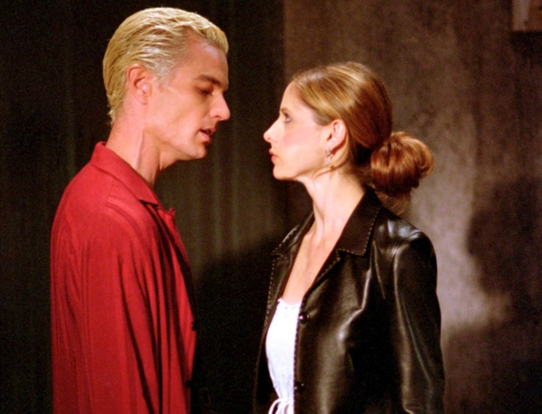 "James Marsters and Sarah Michelle Gellar, ""Buffy the Vampire Slayer"""