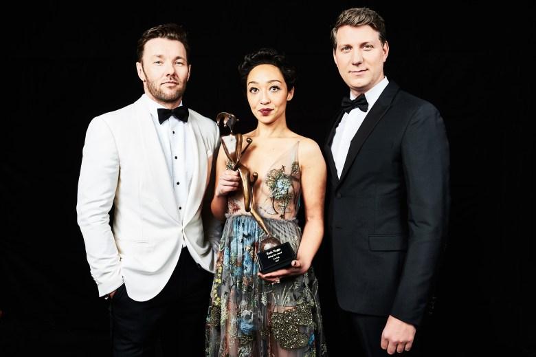 Joel Edgerton, Ruth Negga and Jeff NicholsPalm Springs International Film Festival Awards Gala, Portrait Studio, USA - 02 Jan 2017