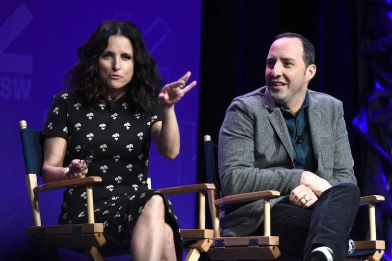 Julia Louis-Dreyfus and Tony Hale'Veep' TV series panel, SXSW Festival, Austin, USA - 13 Mar 2017
