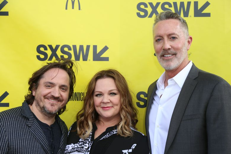 Ben Falcone, Melissa McCarthy and Michael McDonald'Nobodies' TV series peremiere, SXSW Festival, Austin, USA - 13 Mar 2017