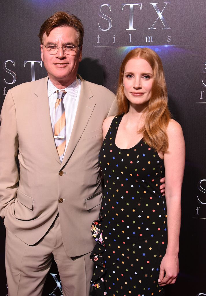 Aaron Sorkin and Jessica Chastain'The State of the Industry' presentation, Arrivals, CinemaCon, Las Vegas, USA - 28 Mar 2017