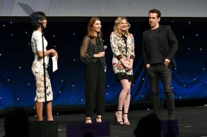 Shaun Robinson, Sofia Coppola, Kirsten Dunst and Colin FarrellFocus Features presentation, CinemaCon, Las Vegas, USA - 29 Mar 2017