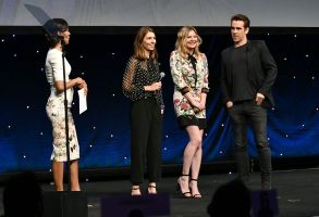 Shaun Robinson, Sofia Coppola, Kirsten Dunst and Colin FarrellFocus Features presentation, CinemaCon, Las Vegas, USA - 29 Mar 2017