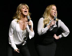 Goldie Hawn and Amy SchumerFox presentation, CinemaCon, Las Vegas, USA - 30 Mar 2017