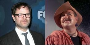 """Rainn Wilson; Roger C. Carmel from """"Star Trek"""""""
