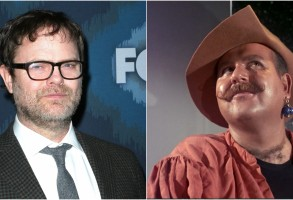 "Rainn Wilson; Roger C. Carmel from ""Star Trek"""