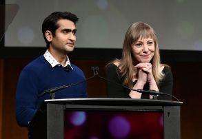 Kumail Nanjiani and Emily V. GordonAmazon presentation, CinemaCon, Las Vegas, USA - 30 Mar 2017