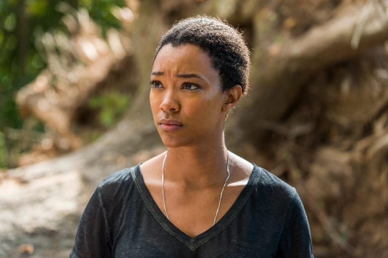 Sonequa Martin-Green as Sasha Williams - The Walking Dead _ Season 7, Episode 14 - Photo Credit: Gene Page/AMC