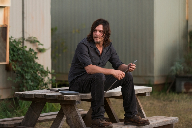 Norman Reedus as Daryl Dixon - The Walking Dead _ Season 7, Episode 14 - Photo Credit: Gene Page/AMC
