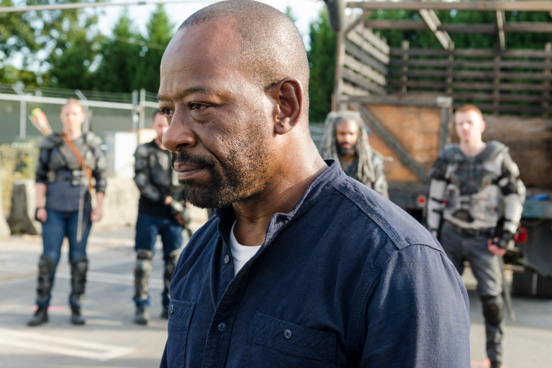 Lennie James as Morgan Jones - The Walking Dead _ Season 7, Episode 14 - Photo Credit: Gene Page/AMC