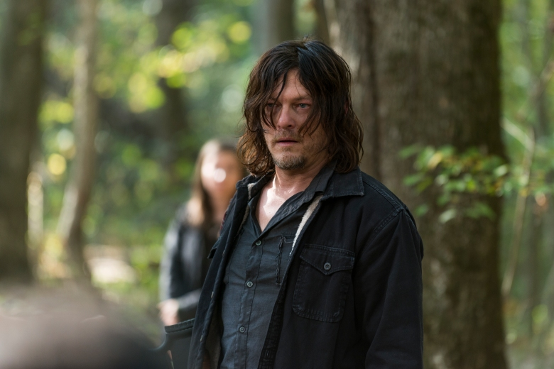 Norman Reedus as Daryl Dixon - The Walking Dead _ Season 7, Episode 15 - Photo Credit: Gene Page/AMC