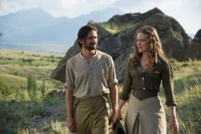 Michiel Huisman and Hera in The Ottoman Lieutenant