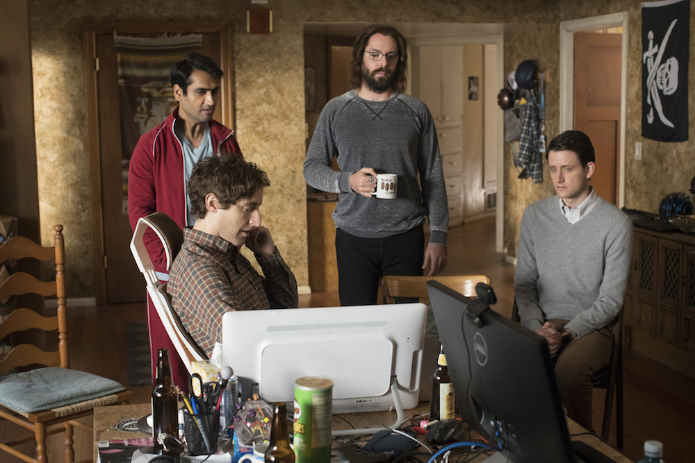 Silicon Valley Season 4 Episode 1 Thomas Middleditch Kumail Nanjiani Martin Starr Zach Woods