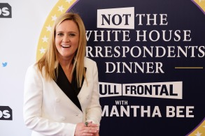 Samantha Bee on the Red Carpet at Full Frontal With Samantha Bee's Not The White House Correspondents' Dinner