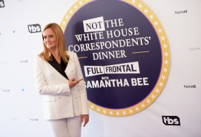 WASHINGTON, DC - APRIL 29:  Host Samantha Bee attends Full Frontal With Samantha Bee's Not The White House Correspondents' Dinner at DAR Constitution Hall on April 29, 2017 in Washington, DC.  (Photo by Jason Kempin/Getty Images for TBS) *** Local Caption *** Samantha Bee