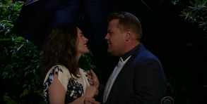 Anne Hathaway, James Corden