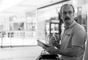 Bob Odenkirk as Jimmy McGill (as Gene) - Better Call Saul _ Season 3, Episode 1 - Photo Credit: Michele K. Short/AMC/Sony Pictures Television