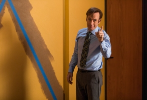 Bob Odenkirk as Jimmy McGill - Better Call Saul _ Season 3, Episode 2 - Photo Credit: Michele K. Short/AMC/Sony Pictures Television