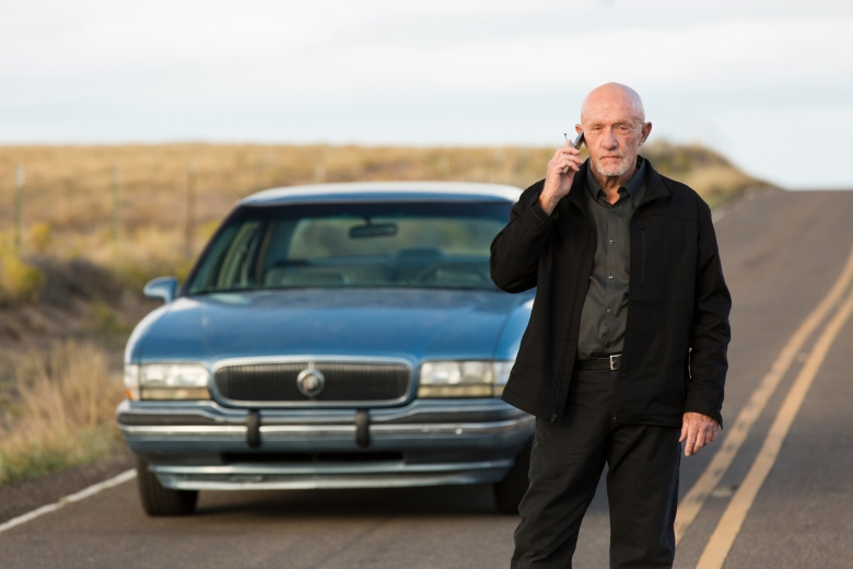 Jonathan Banks as Mike Ehrmantraut - Better Call Saul _ Season 3, Episode 3 - Photo Credit: Michele K. Short/AMC/Sony Pictures Television