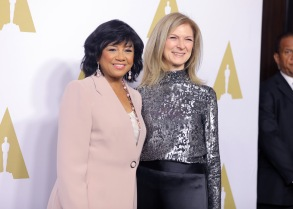 Cheryl Boone Isaacs and Dawn HudsonOscar Nominee Luncheon, Arrivals, Los Angeles, USA - 6 Feb 2017