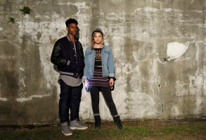 "Aubrey Joseph and Olivia Holt in ""Marvel's Cloak and Dagger"""