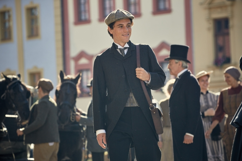Czech Republic - Johnny Flynn stars as young Albert Einstein in National Geographic's Genius (National Geographic/Robert Viglasky)