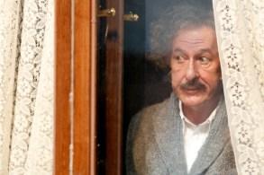Czech Republic - Geoffrey Rush stars as Albert Einstein in National Geographic's Genius (National Geographic/Dusan Martincek)