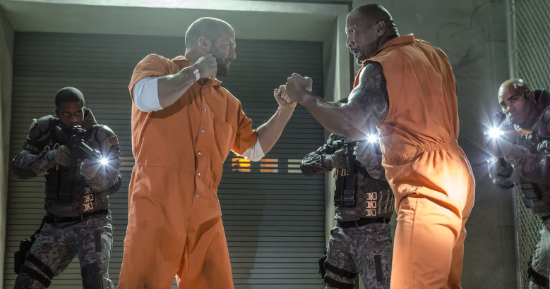 Statham The Rock Fate of the Furious