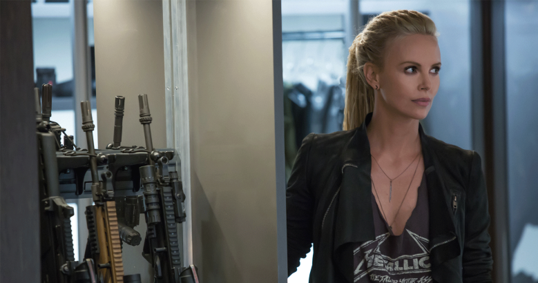 Charlize Theron the Fate of the Furious