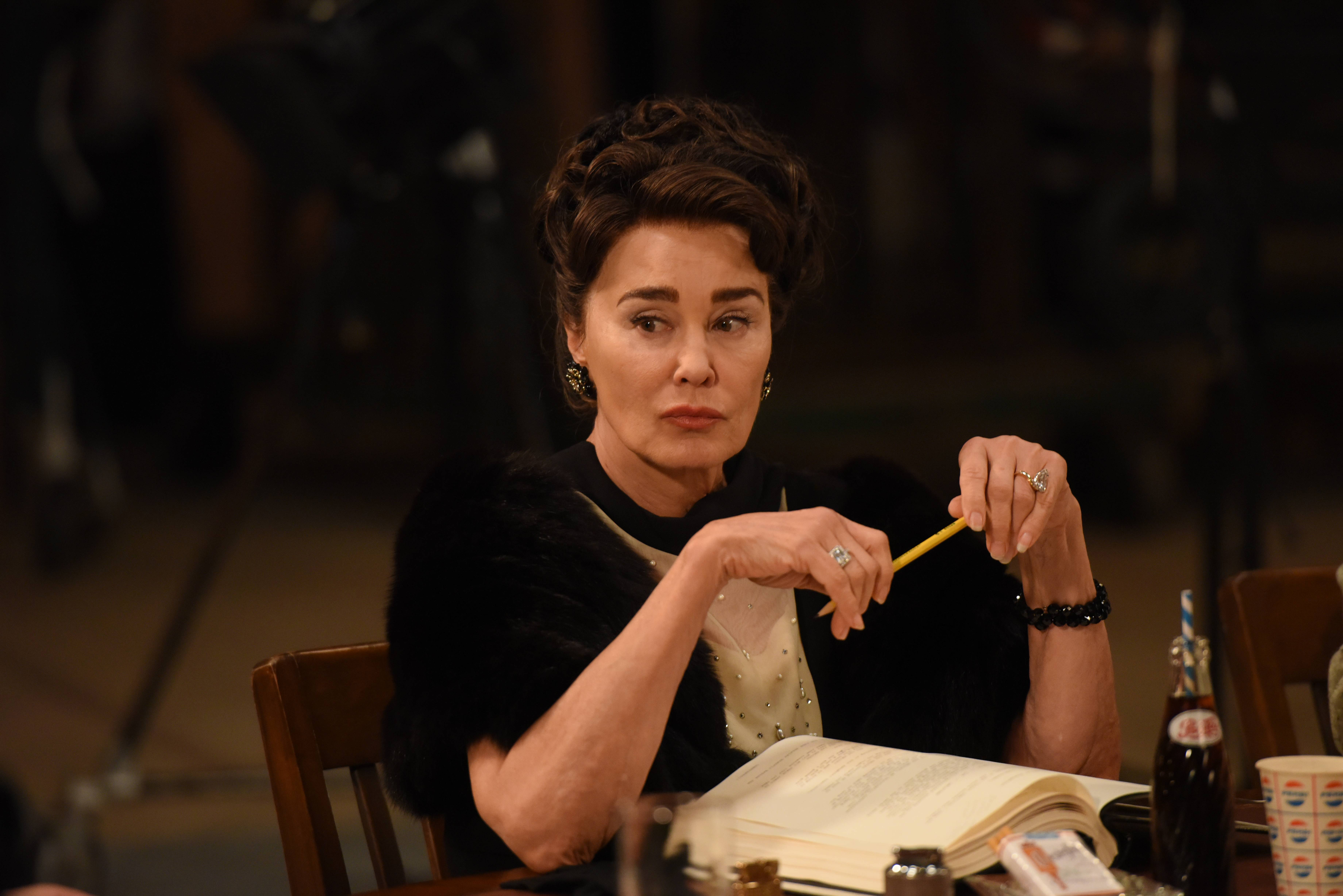"FEUD: Bette and Joan -- ""Hagsploitation"" -- Installment 1, Episode 6 (Airs Sunday, April 9, 10:00 p.m. e/p) -- Pictured: Jessica Lange as Joan Crawford. CR: Prashant Gupta/FX"