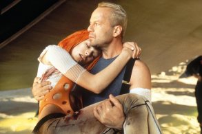Fifth Element (1997)Milla Jovovich and Bruce Willis CR: Columbia Pictures