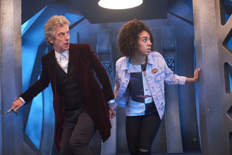 "Peter Capaldi and Pearl Mackie, ""Doctor Who"""