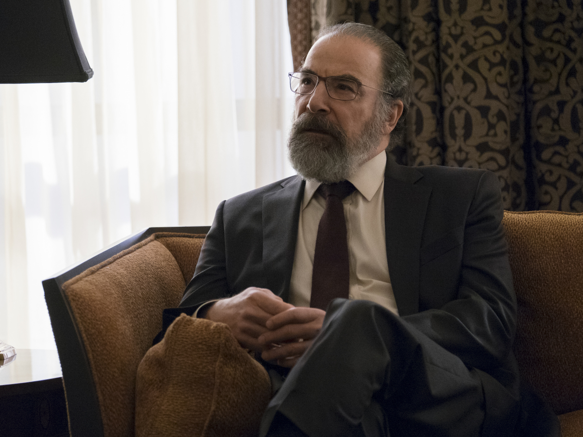 """Homeland"" Season 6 Episode 11 Mandy Patinkin"