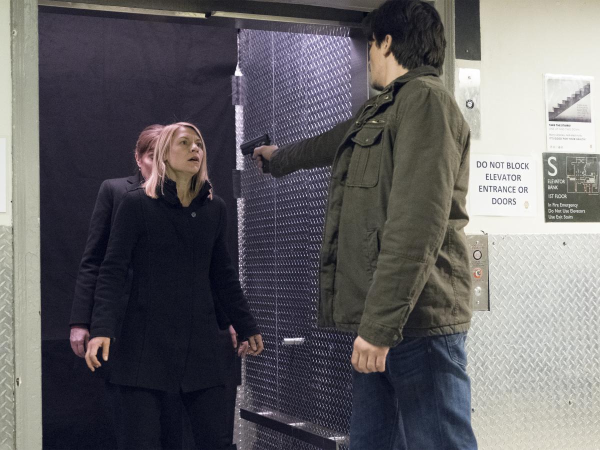 Homeland Season 6 Episode 12 Claire Danes Rupert Grint