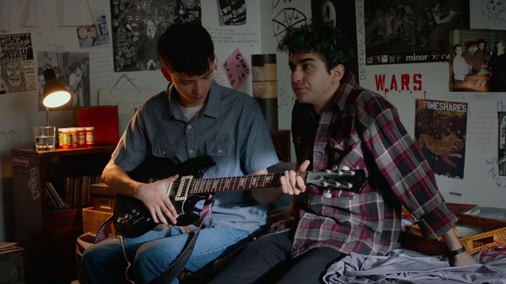 Asa Butterfield, Alex Wolff The House Of Tomorrow. U201c