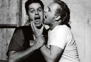 Jonathan Demme and David Byrne